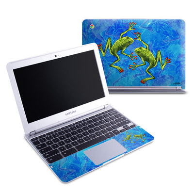 Samsung 11-6 Chromebook Skin - Tiger Frogs