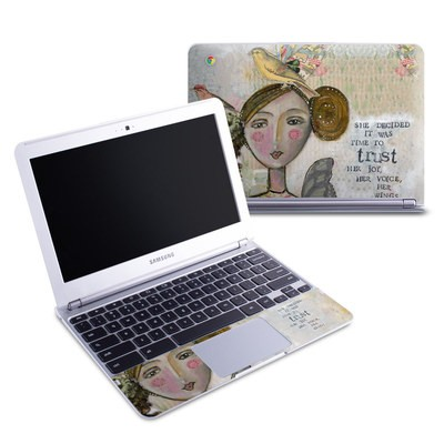 Samsung 11-6 Chromebook Skin - Time To Trust