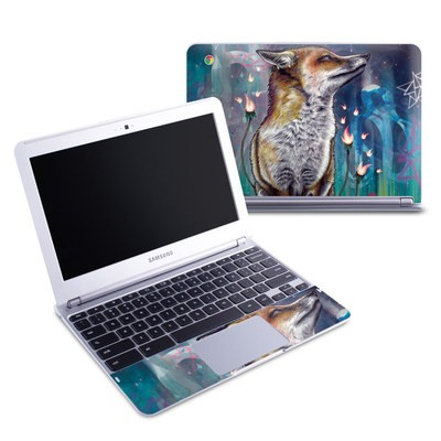 Samsung 11-6 Chromebook Skin - There is a Light