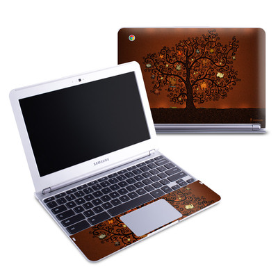 Samsung 11-6 Chromebook Skin - Tree Of Books
