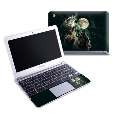 Samsung 11-6 Chromebook Skin - Three Wolf Moon