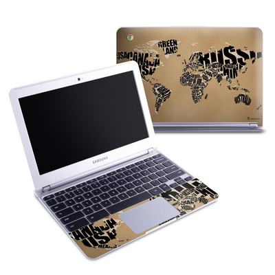 Samsung 11-6 Chromebook Skin - Type Map
