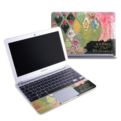 Samsung 11-6 Chromebook Skin - Unlearn