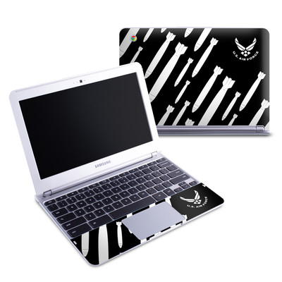 Samsung 11-6 Chromebook Skin - Bombs Away