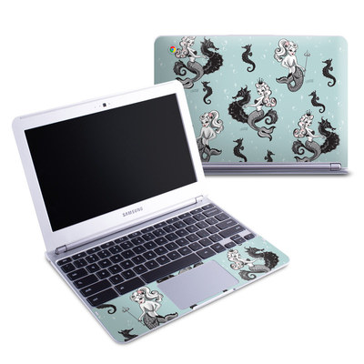 Samsung 11-6 Chromebook Skin - Vintage Mermaid