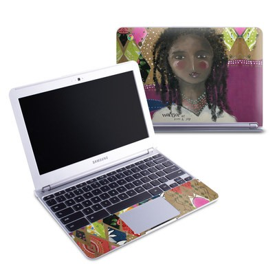 Samsung 11-6 Chromebook Skin - Warrior of Love