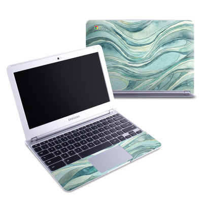 Samsung 11-6 Chromebook Skin - Waves