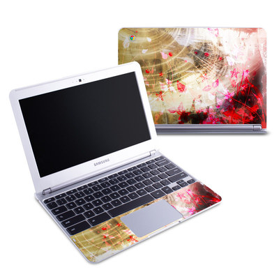 Samsung 11-6 Chromebook Skin - Woodflower