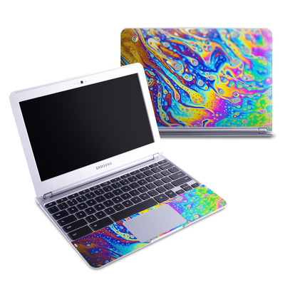 Samsung 11-6 Chromebook Skin - World of Soap