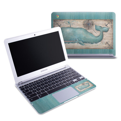 Samsung 11-6 Chromebook Skin - Whale Watch