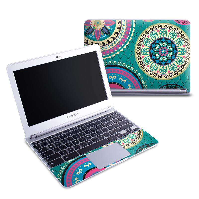 Samsung 11 6 Chromebook Skin Silk Road By Debra Valencia