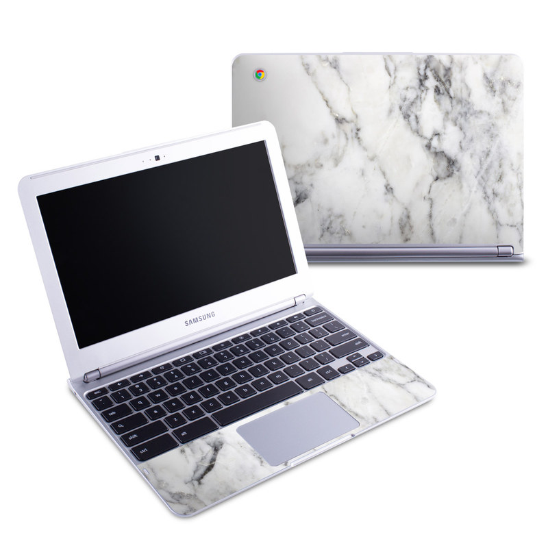 Samsung 11 6 Chromebook Skin White Marble By Marble