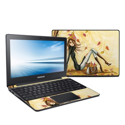 Samsung Chromebook 2 Skin - Autumn Leaves
