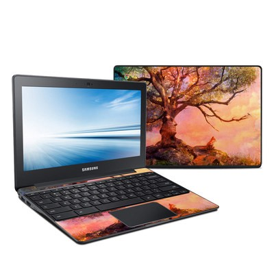 Samsung Chromebook 2 Skin - Fox Sunset