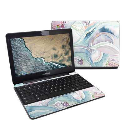 Samsung Chromebook 3 Skin - Abstract Organic