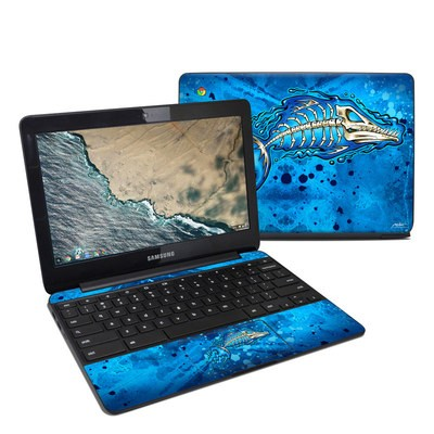 Samsung Chromebook 3 Skin - Barracuda Bones