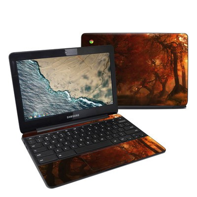 Samsung Chromebook 3 Skin - Canopy Creek Autumn