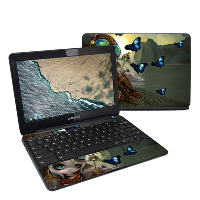 Samsung Chromebook 3 Skin - Clockwork Dragonling