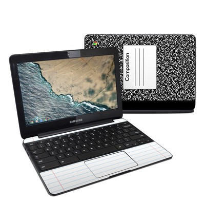 Samsung Chromebook 3 Skin - Composition Notebook