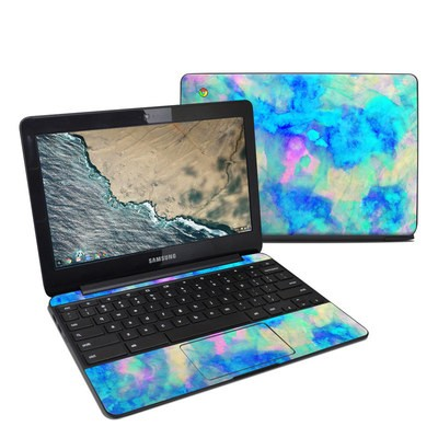 Samsung Chromebook 3 Skin - Electrify Ice Blue