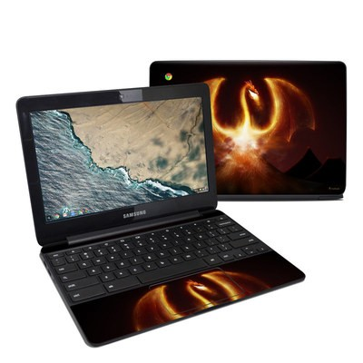 Samsung Chromebook 3 Skin - Fire Dragon