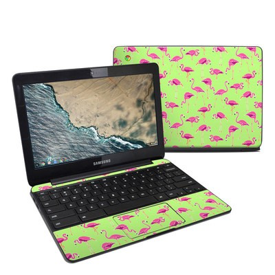 Samsung Chromebook 3 Skin - Flamingo Day