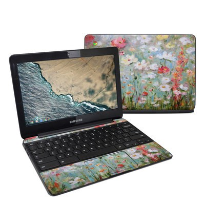 Samsung Chromebook 3 Skin - Flower Blooms