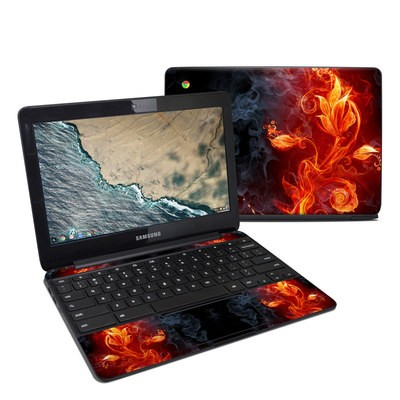 Samsung Chromebook 3 Skin - Flower Of Fire