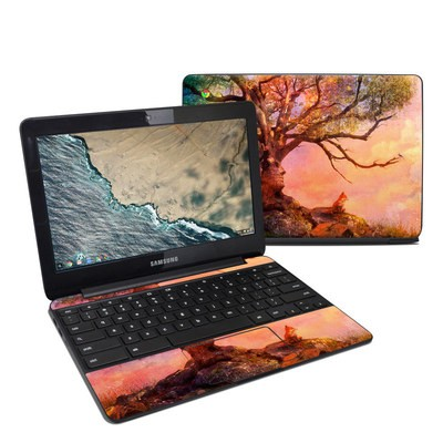 Samsung Chromebook 3 Skin - Fox Sunset