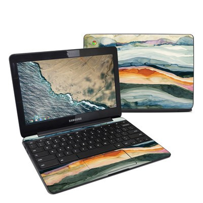 Samsung Chromebook 3 Skin - Layered Earth