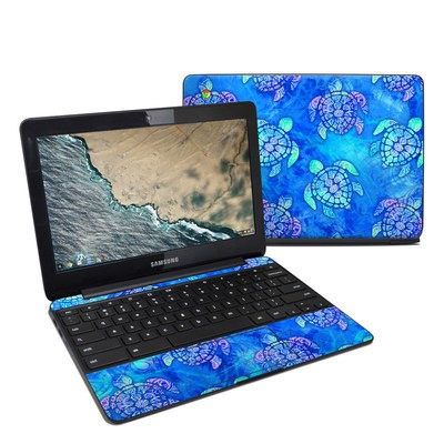 Samsung Chromebook 3 Skin - Mother Earth