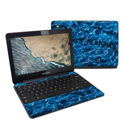 Samsung Chromebook 3 Skin - Mossy Oak Elements Agua