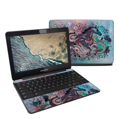 Samsung Chromebook 3 Skin - Poetry in Motion