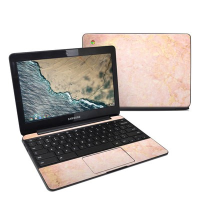 Samsung Chromebook 3 Skin - Rose Gold Marble