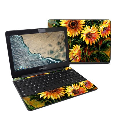 Samsung Chromebook 3 Skin - Sunflower Sunshine