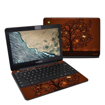 Samsung Chromebook 3 Skin - Tree Of Books