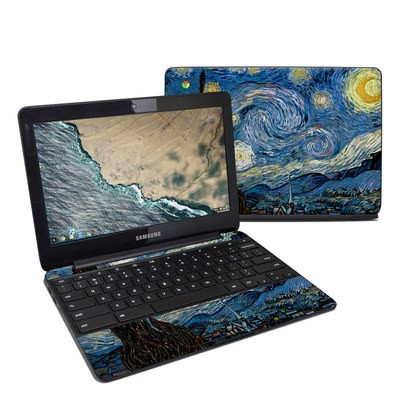 Samsung Chromebook 3 Skin - Starry Night