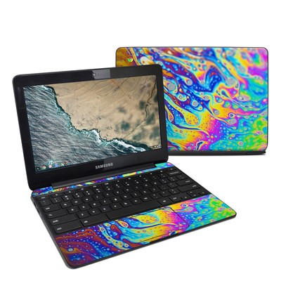 Samsung Chromebook 3 Skin - World of Soap