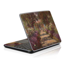Samsung Series 5 Chromebook Skin - Monet - Garden at Giverny