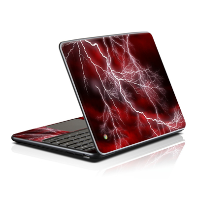 Samsung Series 5 Chromebook Skin - Apocalypse Red