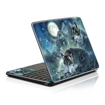 Samsung Series 5 Chromebook Skin - Bark At The Moon