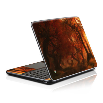 Samsung Series 5 Chromebook Skin - Canopy Creek Autumn