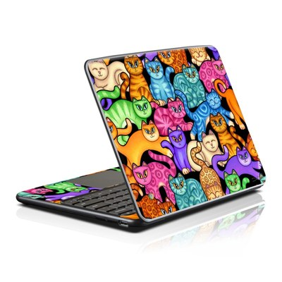 Samsung Series 5 Chromebook Skin - Colorful Kittens