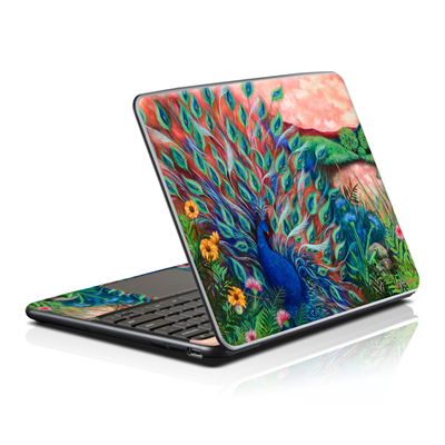 Samsung Series 5 Chromebook Skin - Coral Peacock