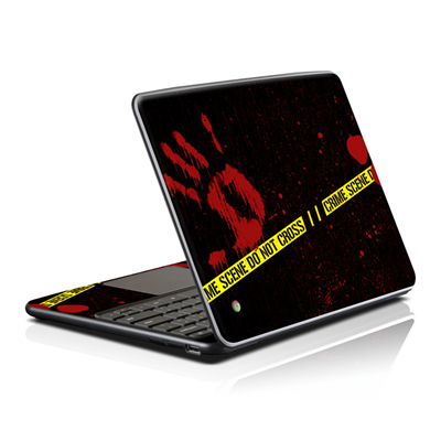 Samsung Series 5 Chromebook Skin - Crime Scene