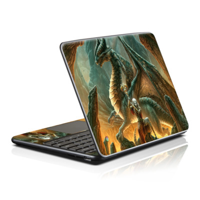 Samsung Series 5 Chromebook Skin - Dragon Mage