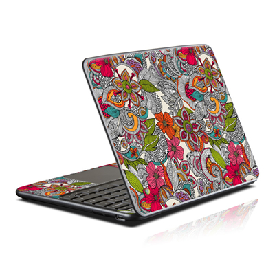 Samsung Series 5 Chromebook Skin - Doodles Color