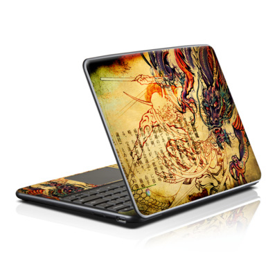 Samsung Series 5 Chromebook Skin - Dragon Legend