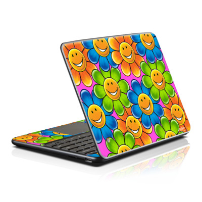 Samsung Series 5 Chromebook Skin - Happy Daisies