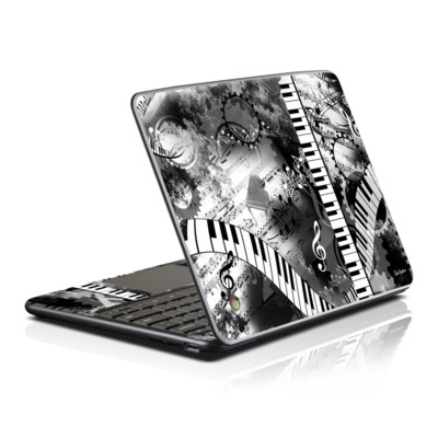 Samsung Series 5 Chromebook Skin - Piano Pizazz